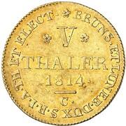 5 thaler George III – revers