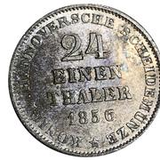 1/24 Thaler - Georg V – revers