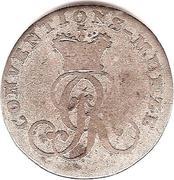 1 Mariengroschen - Georg III – avers