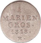 1 Mariengroschen - Georg III – revers