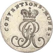 1/24 Thaler - George III – avers