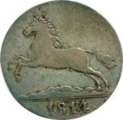1/12 thaler George III – avers