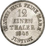 1/12 thaler - Ernst August – revers
