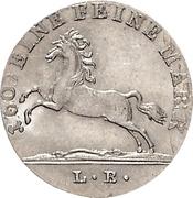 1/12 thaler George IV – avers