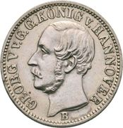 1/12 Thaler - Georg V – avers