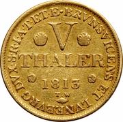 5 Thaler - Georg III – revers
