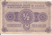 500,000 Mark (Hannover) – avers