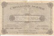 1,000,000 Mark (provincial joint issue of Handelskammer, Landwirtschaftskammer and Handwerkskammer Hannover) – revers