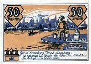 50 Pfennig (Altenwerder and Finkenwerder) -  revers