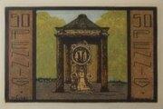 50 Pfennig Neustadt am Rübenberge, Kreissparkasse – revers
