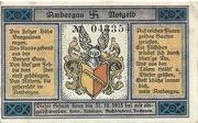 25 Pfennig (Bockenem) – avers