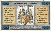 50 Pfennig (Bockenem) – avers