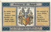 75 Pfennig (Bockenem) – avers