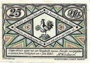 25 Pfennig (Hahnenklee - Hermann Knüppel) – avers