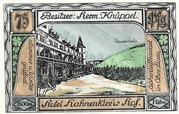 75 Pfennig (Hahnenklee - Hermann Knüppel) – revers