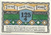 125 Pfennig (Hahnenklee - Hermann Knüppel) – avers