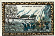50 Pfennig (Lichtenhorst - Kriegs Gefangenen Lager) – revers