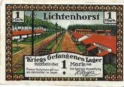 1 Mark (Lichtenhorst - Kriegs Gefangenen Lager) – avers