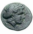 Bronze Æ12 (Harpagion) – avers