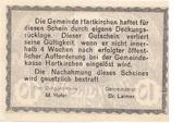 10 Heller (Hartkirchen) – revers
