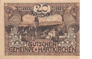 20 Heller (Hartkirchen) – avers