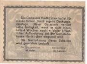 50 Heller (Hartkirchen) -  revers