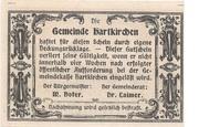 25 Heller (Hartkirchen) – revers