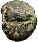 1 biunx (coq face à gauche) – avers