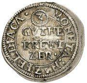 3 Gute Kreuzer - Sebastian II. von Hatzfeld-Gleichen – avers