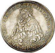1 Thaler - Melchior von Hatzfeldt-Gleichen – revers