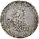 1 Thaler - Hermann von Hatzfeldt-Wildenburg-Krottorf-Gleichen (Ausbeutetaler) – avers