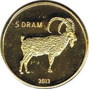 5 Drams (Chèvre) – revers