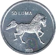 50 Luma (Cheval) – revers