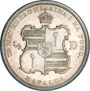 ½ dollar - Kalākaua I – revers