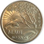 2007 Maui Trade Dollar – avers