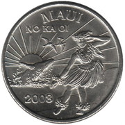 2008 Maui Trade Dollar – avers