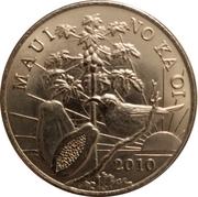 2010 Maui Trade Dollar – avers