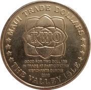 2010 Maui Trade Dollar – revers