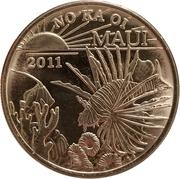 2011 Maui Trade Dollar – avers
