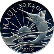 Maui - Two Trade Dollars – avers