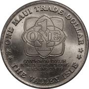 Maui - Trade Dollars – revers