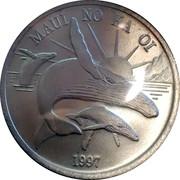 Maui Trade Dollar – avers