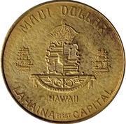 Maui Dollar – revers