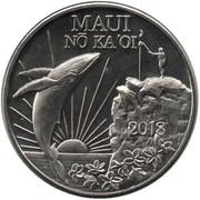 Maui Trade Dollars – avers