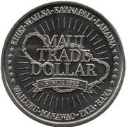 Maui Trade Dollars – revers