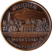 Kona District, Hawaii - Kona Dollar – revers