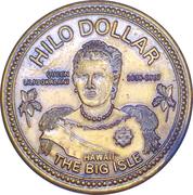 Hilo Dollar (golden) – avers