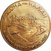 Hawaii Dollar - Waikiki Beach - Diamond Head – avers