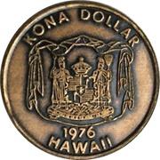 Kona Dollar (Kona) – avers