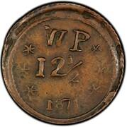 12 1/2 Cents - Wailuku Plantation – revers